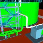 Nieuwe tank -staalstructuur- blowers
