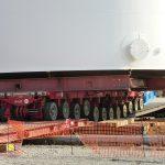 RoRo transport prefab tank