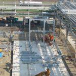 Fundering en staalstructuur FSFL